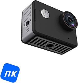 Cámara Deportiva - NK-CA3143-TA Vídeo 4K Ultra HD 20 Mpx WiFi Pantalla HD 2 Pulgadas Sumergible 10m Negro