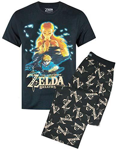 Zelda Conjunto de Pijama y pantalón Lounge para Hombre Breath of The Wild