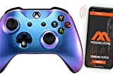Rapid Fire Standard Custom Modded Controller Compatible with Xbox One S/X 40 Mods for All Major Shooter Games (3.5 mm Jack) (Enigma)