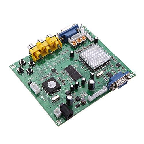Gamogo Tragbarer Originaler GBS8200 5V Aktiver Niedriger 1 Kanal Relaisteil Vorstand CGA/EGA/YUV/RGB zu VGA Arcade Game Video Konverter für CRT Monitor LCD Monitor PDPMonitor