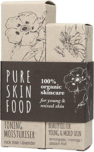 Pure Skin Food: Set - junge Haut & Mischhaut