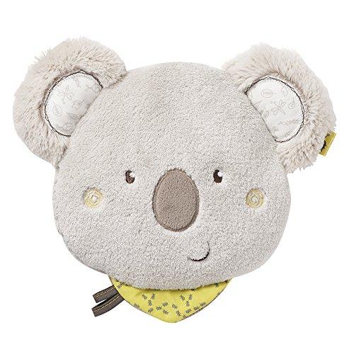 Fehn - Cojín de huesos de cereza gris Koala