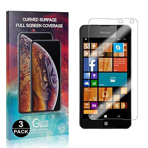 Bear Village® Protector de Pantalla Microsoft Lumia 650, Anti Aceite, 9H Alta...