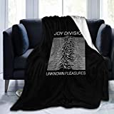 ジョイ・ディヴィジョン JOY DIVISION Unknown Pleasures ソファソファベッド用の超ソフトマイクロフリースブランケット抗ピリング軽量フランネル