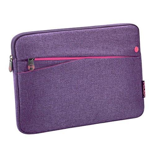 Pedea Tablet PC Tasche Fashion für 12,9 Zoll (32,8 cm) Schutzhülle Etui Hülle mit Zubehörfach, lila