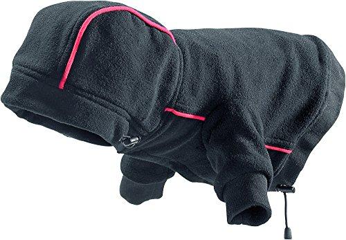 Hunter Hundemantel Leisure mit Kapuze, schwarz, Größe 50