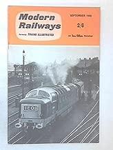 Modern Railways, Formerly Trains Illustrated September 1962, Vol XVI No 168