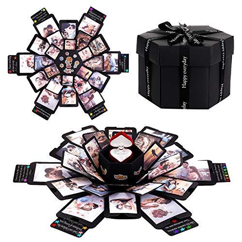 KATELUO Coffret Cadeau Surprise, Boite Album-Photo, Cadeau...