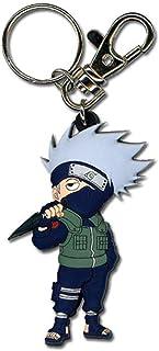"Great Eastern Entertainment Naruto Shippuden SD Kakashi PVC Keychain,2"""