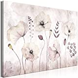 decomonkey Bilder Blumen 120x80 cm 1 Teilig Leinwand Bilder