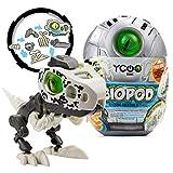Ycoo Robot Dinosaurio en su Huevo Sorpresa para Construir-Sonido y Efectos de luz-8 Biopods coleccionables Diferentes-9 cm-A Partir de 5 años, 88073, Multicolor, Silverlit