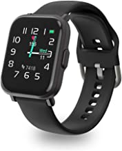 UXD Smart Watch, Fitness Tracker with Sleep Heart Rate Monitor for Atrial Fibrillation,Activity Tracker Pedometer Waterproof Smart Reminder for Phone (Black)