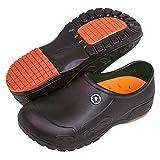 YUNG Professional Slip Resistant Clogs - Chef Clogs, Restaurant Work Shoe, Nurse Shoe, Garden Work Shoe for Men and Women Unisex (Black, Numeric_11)