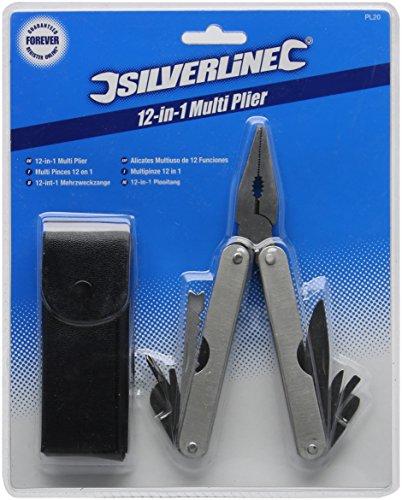 Silverline PL20 12-in-1-Taschenwerkzeug 155 mm