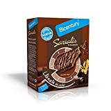 Bicentury - Sarialis - Barritas de cereales y chocolate negro - 100 g 5 barritas - [Pack de 8]