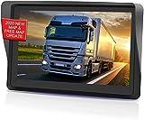 GPS Voiture Auto, 7 Pouces Écran Tactile capacitif Haute luminosité, Cartes d'europe gratuites avec mises à Jour à Vie, GPS Voiture Avertissement de trafic Vocal