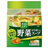 マルちゃん 野菜が美味しいスープ中華風5P×24袋