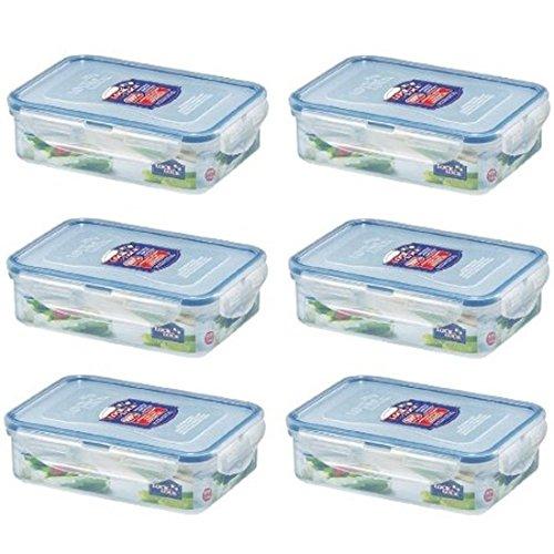 Lock & Lock HPL815 Multifunktionsbox 6 x 550ml