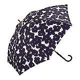 ワールドパーティー(Wpc.) 雨傘 長傘  ネイビー  58cm  レディース ハナプリント 7628-07 NV