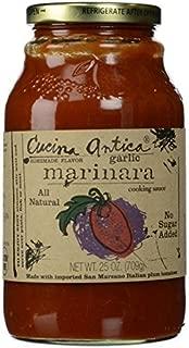 Cucina Antica Garlic Marinara Sauce, 25 oz by Cucina Antica