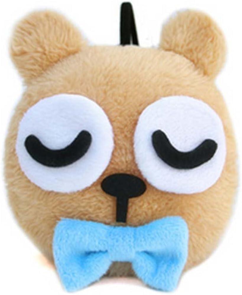 Unisex Kids Cute Ear Warmer Winter Outdoors Cartoon Earmuffs Lovely Headband