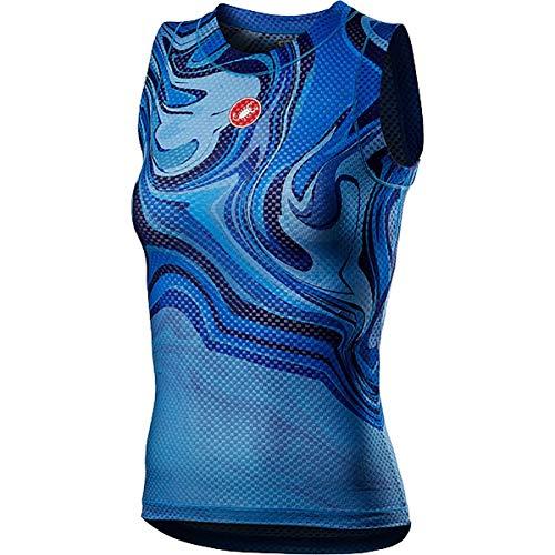 CASTELLI 4521060-458 PRO Mesh W Sleeveless Donna Azzurro Italia XS