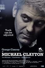 Pop Culture Graphics Michael Clayton Poster Swiss 27x40 George Clooney Tom Wilkinson Tilda Swinton