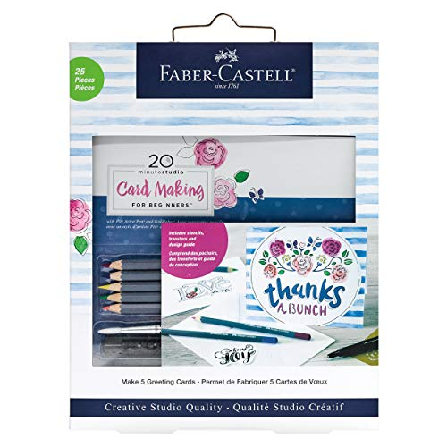 Faber-Castell 20 Minute Studio Card Making for Beginners