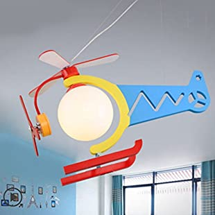 Lovely Children's Clothing Store Chandeliers Eye Protection Aircraft Lights Boys Room LED Girls Creative Bedroom:Hitspoker
