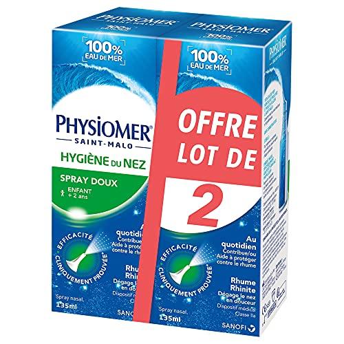 Physiomer Higiene de Nariz Spray Lote de 2 x 135 ml