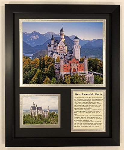 Legends Never Die Neuschwanstein Castle - Framed 12