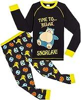 Pokemon Pyjama met Snorlax, Pikachu, Bulbasaur en Charmender, Katoenen Pyama voor Jongens, Pokémon Kleding, Cadeau...