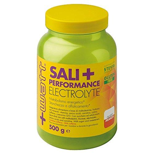 +WATT Sali+ Performance Electrolyte - 500gram - Gusto Arancia