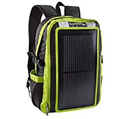 GoEnerplex PK-Alpha-GR Portable Solar Backpack Charger (3 Watt) Green