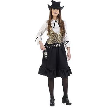 Limit Sport- Disfraz Vaquera Ellen, S (MA476): Amazon.es: Juguetes ...