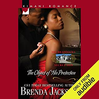 The Object of His Protection                   By:                                                                                                                                 Brenda Jackson                               Narrated by:                                                                                                                                 Quincy Tyler Bernstein                      Length: 4 hrs and 46 mins     293 ratings     Overall 4.2