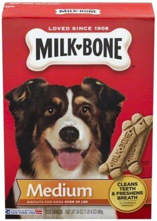 Milk-Bone Medium Dog Biscuits Ranking TOP14 Max 53% OFF Pack of Tota 3-24 72 Boxes oz