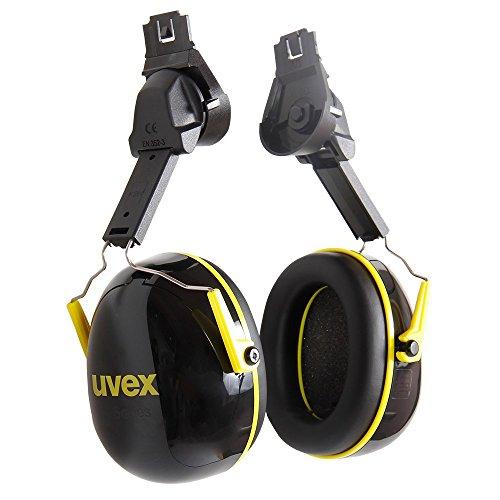 Helmkapselgehörschutz Uvex K2H Schwarz-Gelb