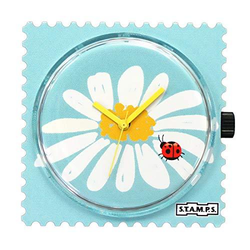 Stamps Femme Uhr Analogique Quartz mit Plastique Armband 105764