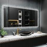 ARTTOR Espejos Pared - Espejo Baño - Decoracion Hogar - Espejos Decorativos -...