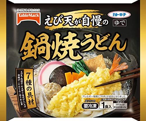 【冷凍】テーブルマーク 鍋焼うどん X6袋