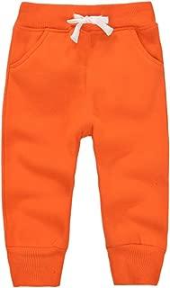 AOWKULAE Mom's Care Kids Fleece Sports Jogger Pants