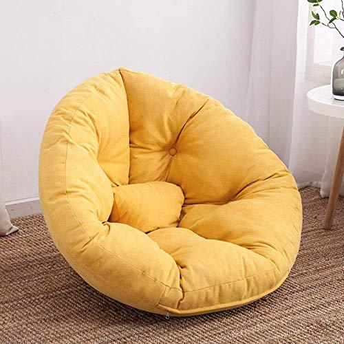 KUYH Puf multifuncional de sofá perezoso, asiento trasero simple Tatami, dormitorio sala de estar Bay ventana reclinable