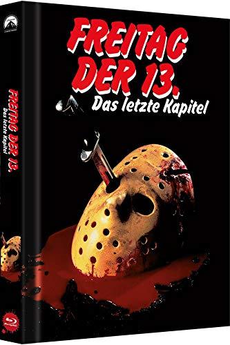 Freitag, der 13. - Teil 4: Das letzte Kapitel - Collector's Edition - Mediabook (Cover B) [Blu-ray]