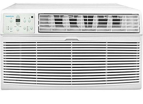 Emerson Quiet Kool EBTE12RD2 12K Btu Through The Wall Heat and Cool Air Conditioner 230V, White