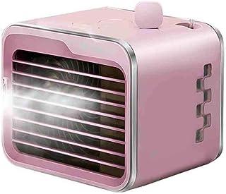 yankai Evaporativo Silencioso, Mini Ventilador De Enfriamiento Pequeño Ventilador De Aire Acondicionado Enfriador Pequeño