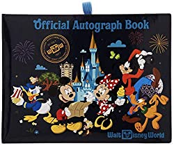 The Official Walt Disney World Autograph Book (2019) available at Amazon.