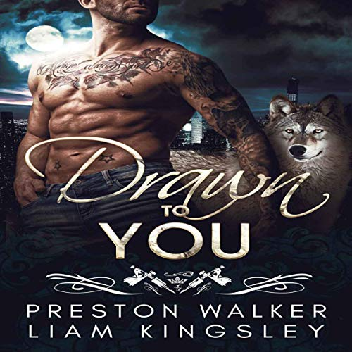 Drawn to You: A Single Dad Opposites Attract Romance audiobook cover art