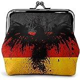 Wallet,Eagle Germany Flag Clutch Bag, Stilvolle Geldbörsen Für Erwachsene Teenager Kinder,11.5(W) x10.5(L) x3(T) cm