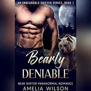 Bearly Deniable audiobook cover art